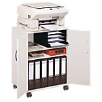 DURABLE Kopieer  en printerkast Lichtgrijs 52,8 x 74,8 x 40 cm