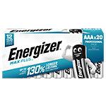 Energizer Batterij Max Plus AAA 20 Stuks