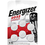 Energizer Knoopcelbatterij CR2032 6 Stuks