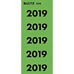 Leitz Ordnerrugetiketten Speciaal Groen 20 Vellen à 5 Etiketten 6 x 2,55 cm