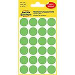 AVERY Zweckform Markeringspunten Speciaal 3174 Groen 18 x 18 mm 4 Vellen à 24 Etiketten
