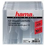 Hama CD Doppel Leerhulle 00044753 10 Stuks