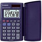 Casio Zakrekenmachine HS 8VER 8 cijferige display Blauw