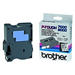 Brother TX Labeltape TX 231 Zwart op Wit 12 mm x 15 m