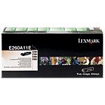 Lexmark E260A11E Origineel Tonercartridge Zwart Zwart