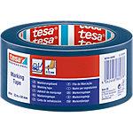 tesa Vloermarkeringstape 60760 50 mm x 33 m Blauw