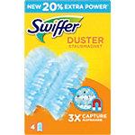 Swiffer Duster Stofdoekjes navulling 5,6 x 19,5 x 12,4 cm Blauw 4 Stuks