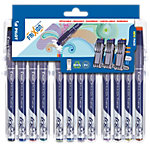 Pilot FRIXION Evolutive Fineliner 0.45 mm Kleurenassortiment 12 Stuks