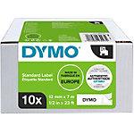 DYMO 45013 Labeltape Wit 12 mm 10 Rollen
