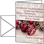 Sigel Kerstbriefpapier DS 061 10 Stuks