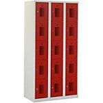 Locker NH 180 3.15 Grijs, rood