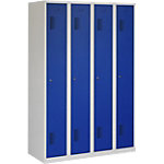 Garderobekast NH 180 4.4 Grijs, blauw ceha nh18044c70355010