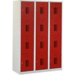 Locker NHT 180 3.12 Grijs, rood