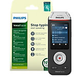 Philips digitale audiorecorder Voicetracer DVT2810 zilver, zwart