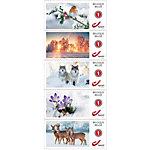 bpost Postzegel Einde Van Het Jaar 100 Stuks
