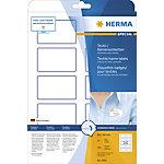 HERMA Naam textieletiketten 4591 Wit A4 80 x 50 mm 10 Vellen à 10 Etiketten