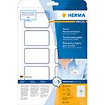 HERMA Naam textieletiketten 4410 Wit A4 80 x 50 mm 20 Vellen à 10 Etiketten