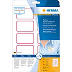 HERMA Naam textieletiketten 4405 Wit A4 80 x 50 mm 20 Vellen à 10 Etiketten