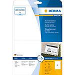 HERMA Naam textieletiketten 4519 Wit A4 200 x 144 mm 20 Vellen à 2 Etiketten