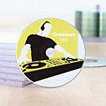 HERMA CD DVD Etiketten 8624 Wit Ø 116 mm 10 Vellen van 2 Etiketten