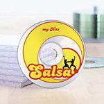 HERMA CD DVD Etiketten 4374 Transparent Ø 116 mm 25 Vellen van 2 Etiketten