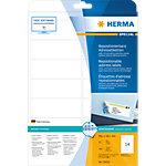 HERMA Verwijderbare adresetiketten 10016 Wit A4 99,1 x 38,1 mm 25 Vellen à 14 Etiketten