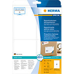 HERMA Verwijderbare adresetiketten 10019 Wit A4 99,1 x 139 mm 25 Vellen à 4 Etiketten