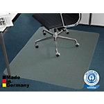 FLOORDIREKT PRO Stoelmat voor vloerbedekking Eco PET Transparant 115 x 135 cm