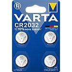 VARTA Knoopcelbatterijen Electronics CR2032 4 stuks