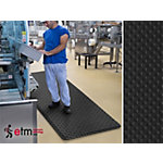 etm Anti vermoeidheidsmat Dyna Protect Bubble PVC Zwart 900 x 3000 mm