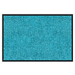 Color Your Life Droogloopmat Rhine Polyamide Turquoise 3000 x 900 mm