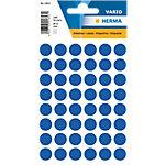 HERMA Multi purpose labels ø 12mm dark blue 240 pcs. Gekleurde stippen Donker blauw 13 x 13 mm 10 Pakken à 2400 Etiketten
