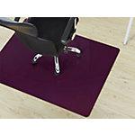 FLOORDIREKT PRO Stoelmat voor harde vloeren Polycarbonaat Paars 1500 x 1200 mm