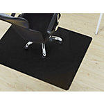 FLOORDIREKT PRO Stoelmat voor harde vloeren PP Zwart 1200 x 900 mm