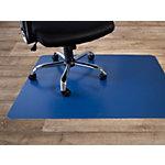 FLOORDIREKT PRO Stoelmat voor harde vloeren Polypropyleen Donkerblauw 120 x 150 cm