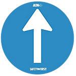 Jalema Anti slip vloersticker Vinyl Ruwe vloer 2 Stuks