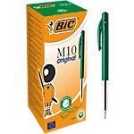 BIC M10 Balpen 0.4 mm Groen 50 Stuks