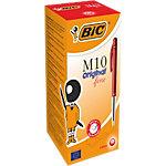 BIC M10 Balpen 0.4 mm Rood 50 Stuks