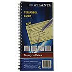 Jalema 2541907000 Terugbelboek Blauw Speciaal 14 x 29,7 cm 200 vellen