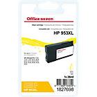 Office Depot Compatible HP 953XL Inktcartridge F6U18AE Geel