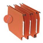 Niceday Hangmappen A4 Oranje gerecyleerd karton v bodem 27,5 x 32,8 cm 25 stuks