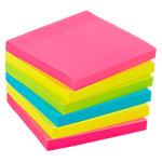 Office Depot Extra Sticky Notes 76 x 76 mm Kleurenassortiment 6 Blokken van 90 Vellen