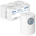 Kleenex Papieren handdoeken 6781 2 laags Rol Wit 6 Rollen à 400 Vellen