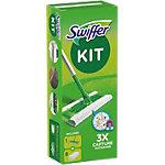 Swiffer Set mop en stofdoekjes 24 x 20,7 cm Groen