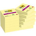 Post it Zelfklevende notes 48 x 48 mm Kanariegeel 12 Stuks à 90 Vellen