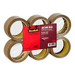 Scotch Verpakkingstape HV.5066.F6.B. 50 mm x 66 m Bruin 6 Rollen
