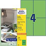 Avery Multipurpose Etiketten Universal Groen Rechthoekig 400 Etiketten per Pak