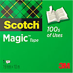 Scotch Plakband Magic tape 810 19 mm x 10 m Transparant