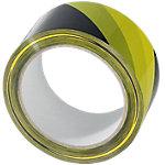 Waarschuwingstape 50 mm x 66 m Geel, zwart