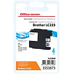 Office Depot Compatible Brother LC223C Inktcartridge Cyaan